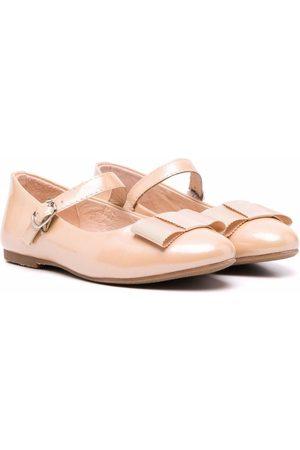 AGE OF INNOCENCE Ellen bow-embellished ballerina flats