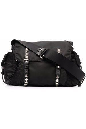 Prada Dames Handtassen - Vela stud-embellished satchel
