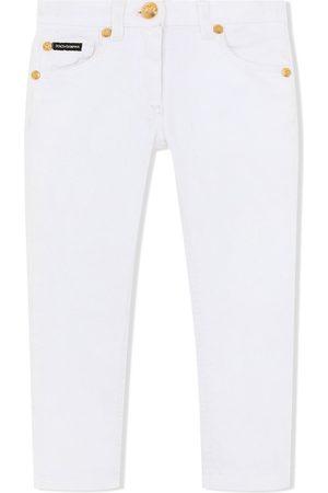 Dolce & Gabbana Meisjes Skinny - Mid-rise skinny jeans