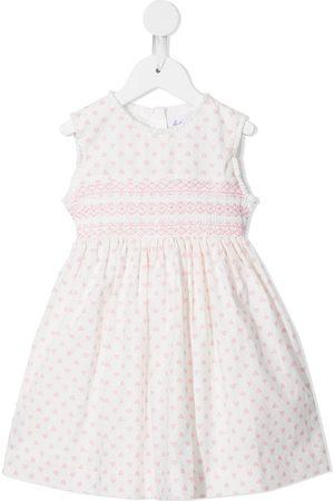 Rachel Riley Meisjes Casual jurken - Heart-print sleeveless dress