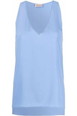 BLANCA V-neck vest top
