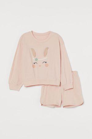 H&M Meisjes Pyjama's - Pyjama met interactief motief