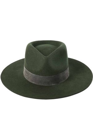 Lack of Color Mirage Forest Wool Fedora Hat