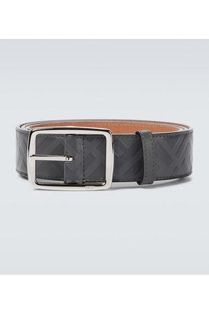 Fendi FF leather belt