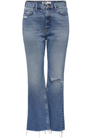 ONLY Jdydichte Life Hw Wide Raw Flared Jeans Dames