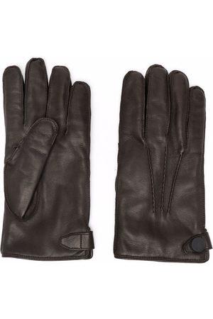 BILLIONAIRE Heren Handschoenen - Perforated-detailing leather gloves