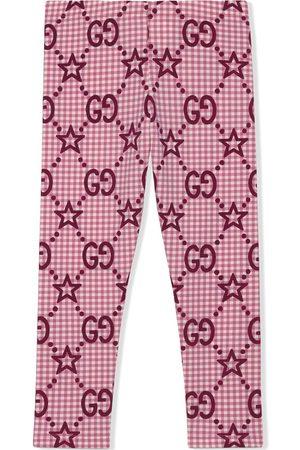 Gucci Meisjes Leggings - GG star-print leggings