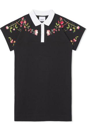 Burberry Meisjes Poloshirts - Montage-print polo shirt dress