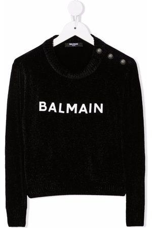 Balmain Jongens Sweaters - Logo-print sweater
