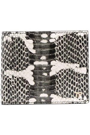 Tom Ford Heren Portefeuilles - Snakeskin-print wallet