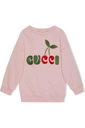 Gucci GUCCI cherry-print dress