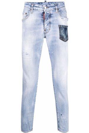 Dsquared2 Heren Skinny - Faded skinny jeans