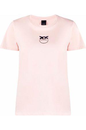 Pinko Dames T-shirts - Logo crew-neck T-shirt