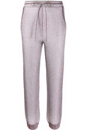 Missoni Metallic knitted track pants
