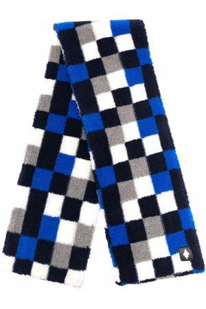 MARCELO BURLON Heren Sjaals - Checkerboard-print scarf