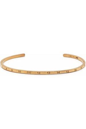 Maison Margiela Dames Armbanden - Number-engraved cuff bracelet