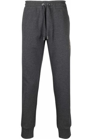 Dolce & Gabbana Heren Strings - Drawstring-waist cotton track trousers