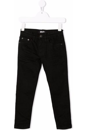 Molo TEEN mid-rise slim-fit jeans