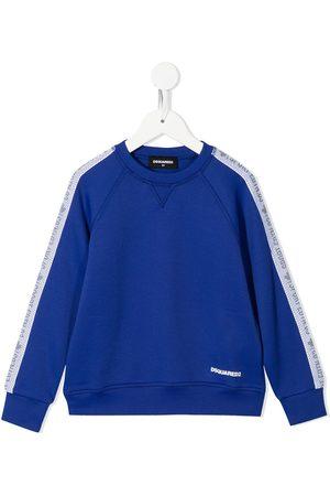 Dsquared2 Jongens Sweaters - Logo-print crew neck sweatshirt
