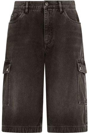Dolce & Gabbana Denim cargo shorts