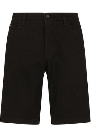 Dolce & Gabbana Heren Shorts - Knee-length denim shorts