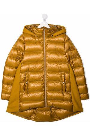 HERNO TEEN padded zip-up down jacket