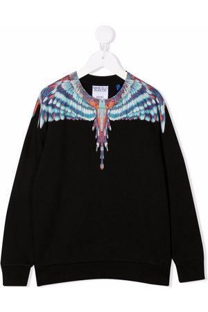 MARCELO BURLON Meisjes Sweaters - Wings-print sweatshirt