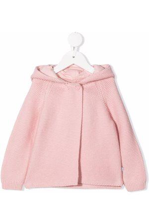 Stella McCartney Donsjassen - Knitted hooded jacket
