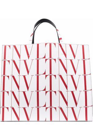 VALENTINO GARAVANI Heren Shoppers - VLTN TIMES tote bag