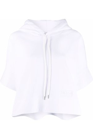 Stella McCartney Dames Korte mouw - Cropped short-sleeve hoodie