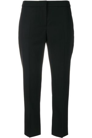 Alexander McQueen Dames Capri's - Cropped tailored trousers