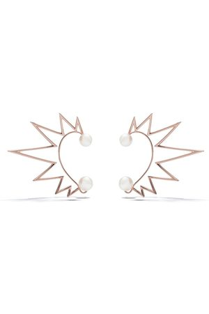 Tasaki Dames Ear cuffs - 18kt rose gold Nacreous South Sea pearl ear cuffs