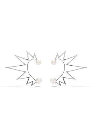 Tasaki Dames Ear cuffs - 18kt white gold Nacreous South Sea pearl ear cuffs