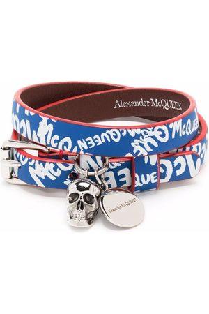 Alexander McQueen Logo band bracelet