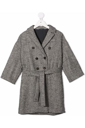 Brunello Cucinelli Double-breasted wool coat