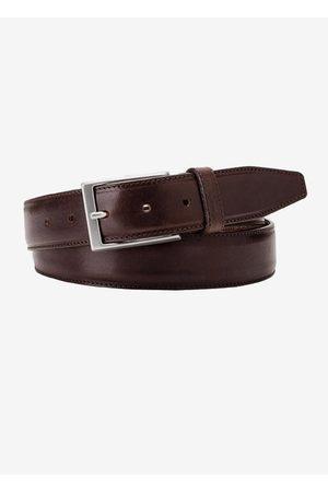 Michaelis Heren Riemen - Brown leather belt