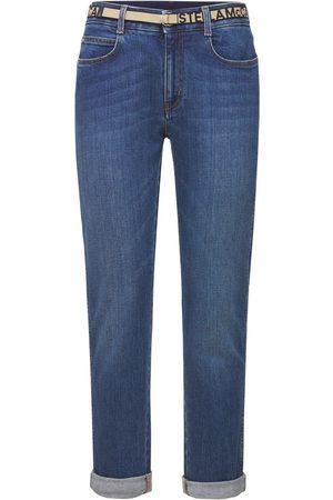 Stella McCartney Dames Boyfriend - Cotton Denim Skinny Boyfriend Jeans
