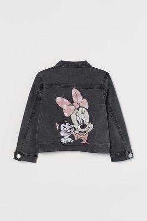 H&M Meisjes Spijkerjassen - Jeansjasje met applicatie