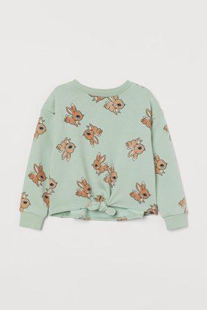 H&M Sweater met geknoopt detail