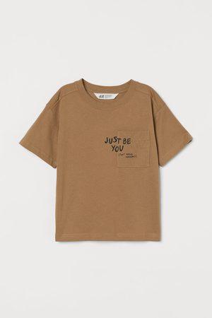 H&M Jongens T-shirts - T-shirt met borstzak