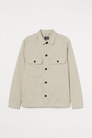 H&M Heren Korte jassen - Hemdjas van keper