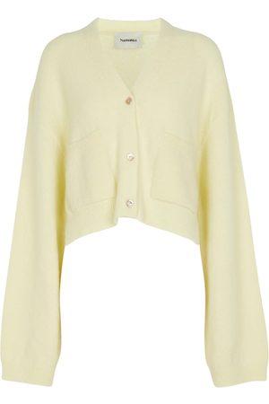 Nanushka Dames Cardigans - Effie bouclé cropped cardigan