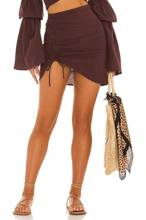 Bananhot X REVOLVE Mini Ruched Skirt in
