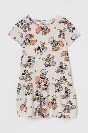 H&M Tricot jurk met print