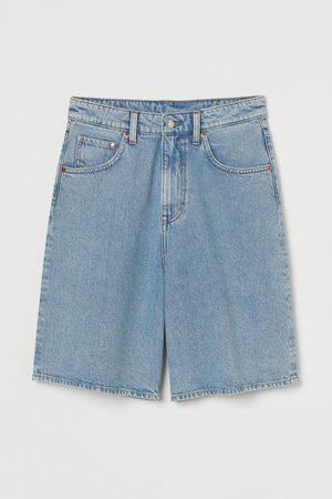 H&M Wide Bermuda High Waist Shorts