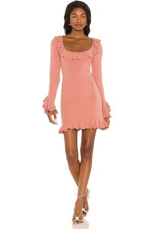 LPA Ruffle Sweater Dress in