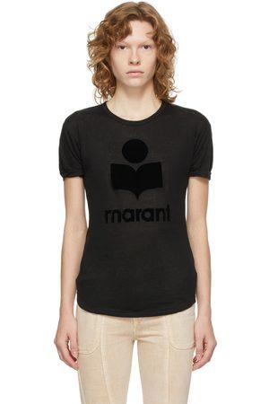 Isabel Marant Black Koldi Logo T-Shirt