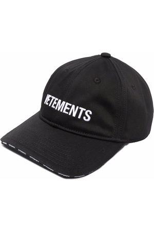 Vetements Embroidered logo baseball cap
