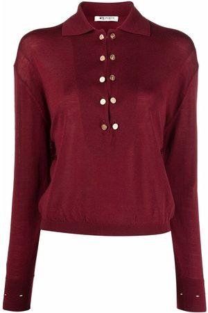PORTS 1961 Long-sleeve wool polo top