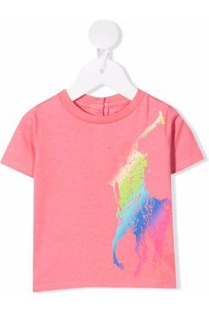 Ralph Lauren Polo Pony-print cotton T-shirt